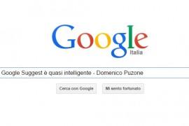 Google Suggest è intelligente