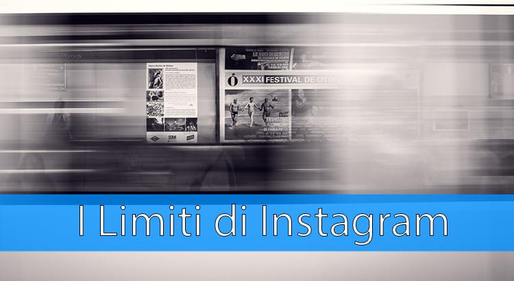 limiti di instagram