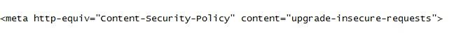 code embedd non sicuro
